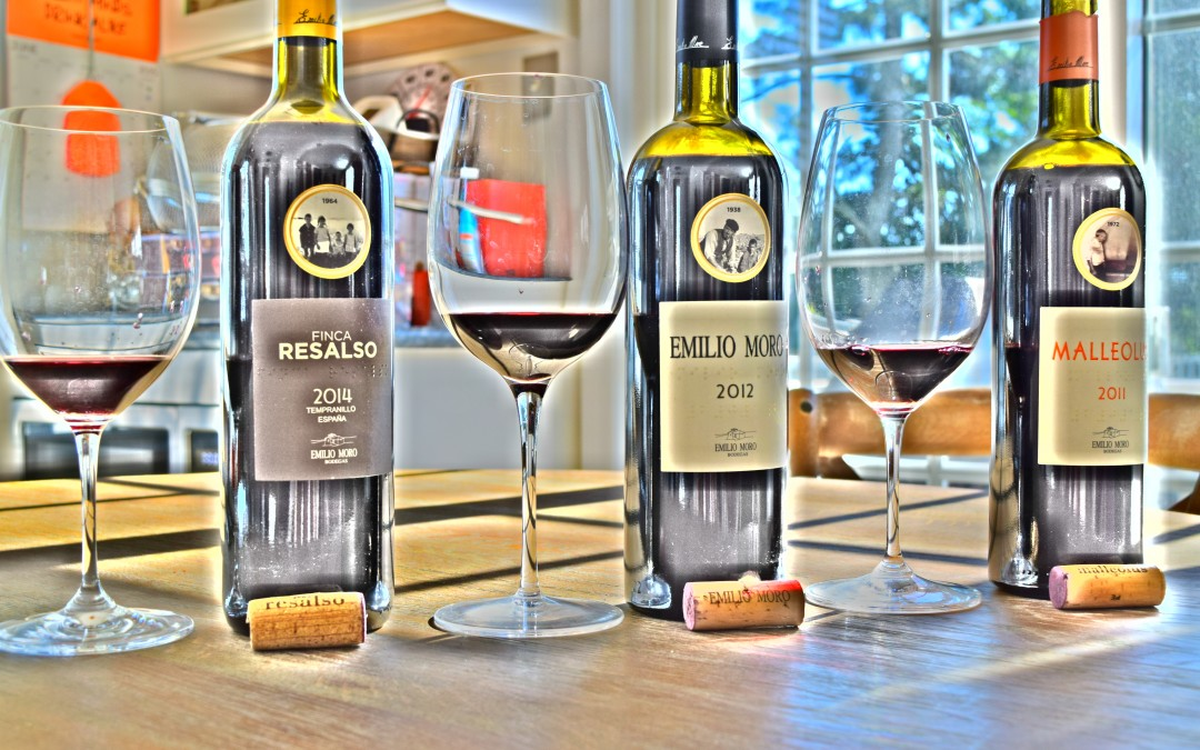 The Tempranillo's of Emilio Moro