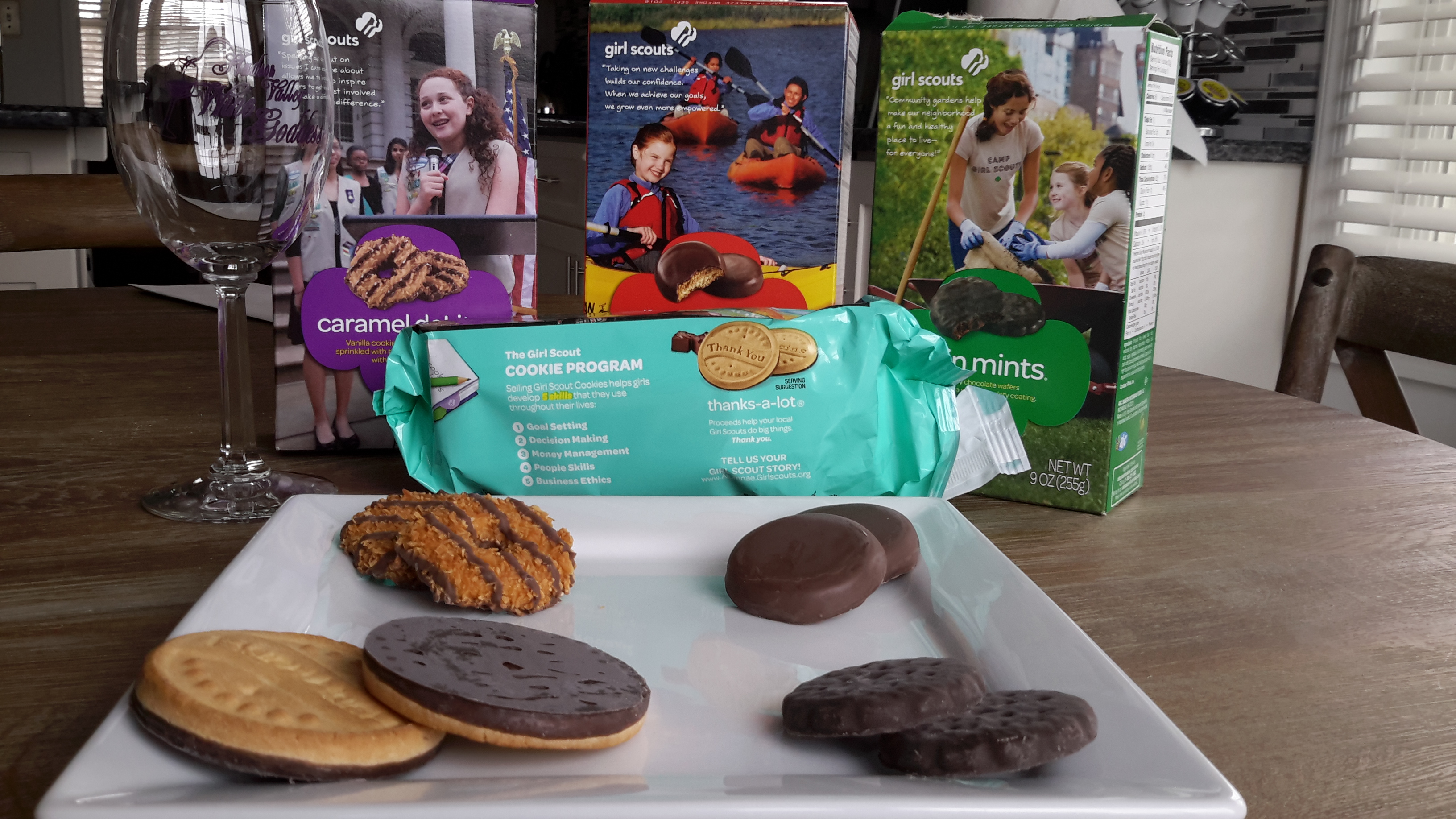 girl scout cookies and wine pairings   hudson valley wine