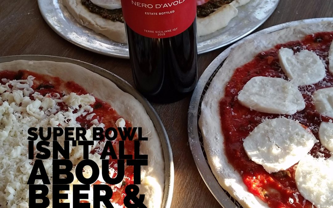 Super Bowl Isn't All About Beer & Pizza