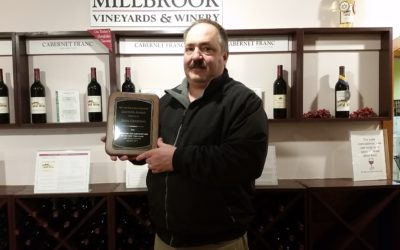 "Millbrook Vineyard & Winery's John Graziano Wins ""Grower Award"""