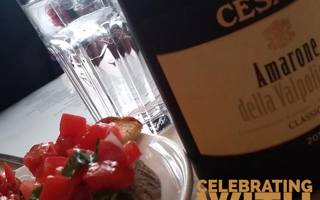 Celebrating with Cesari