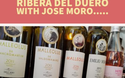 I Could Have Been In Ribera del Duero with Jose Moro…