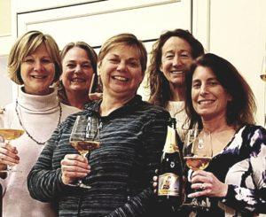 wine nite ladies