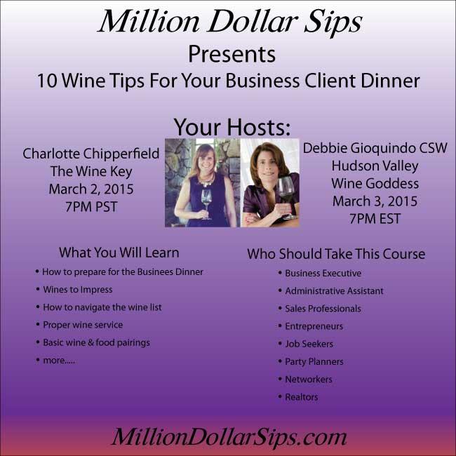 Million Dollar Sips: 10 Wine Tips For Your Business Dinner