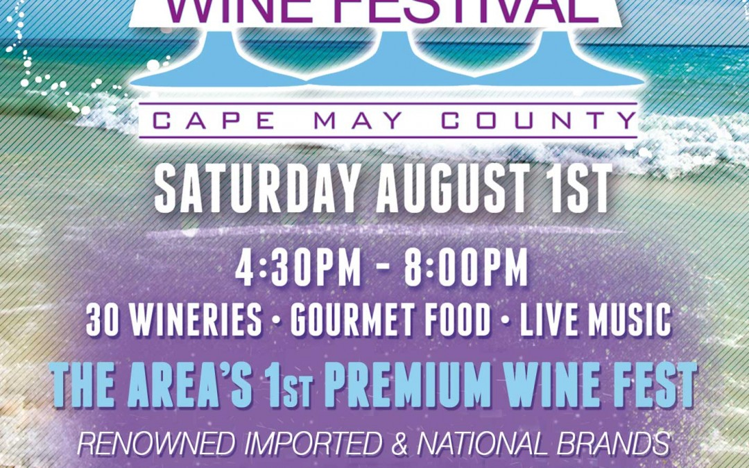 Sip and Savor at Ocean Breeze Wine Festival on Diamond Beach & $5 off Admission