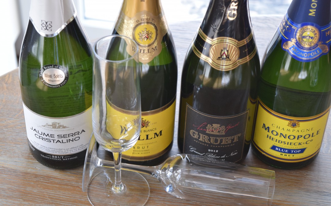 Inexpensive Sparkling Wines for New Years Eve