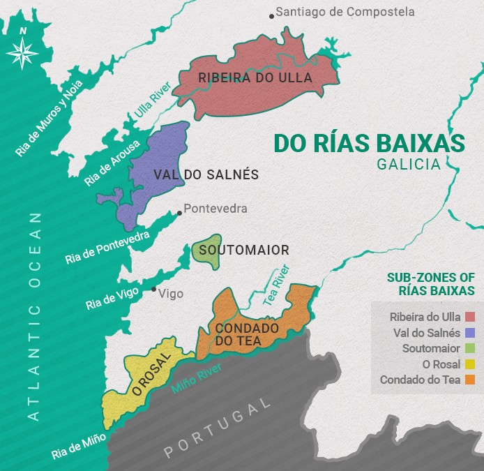 All About Albarino – The Wine of Rias Baixas