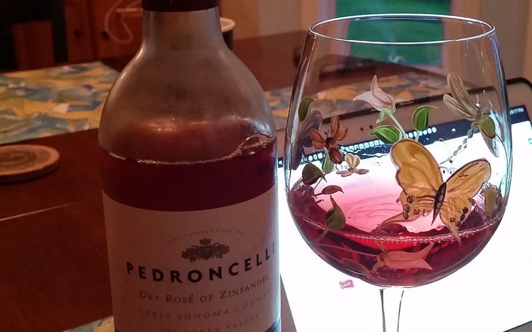 #RoseRevolution with Pedroncelli Rose of Zinfandel