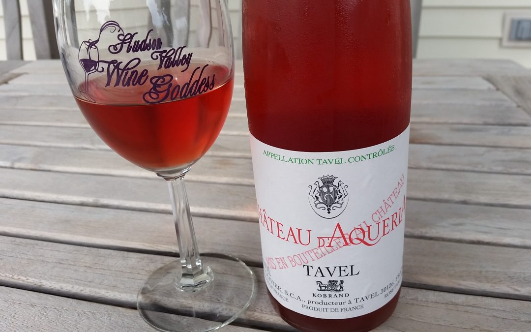 Summer of Rose – Chateau d'Aqueria from Tavel