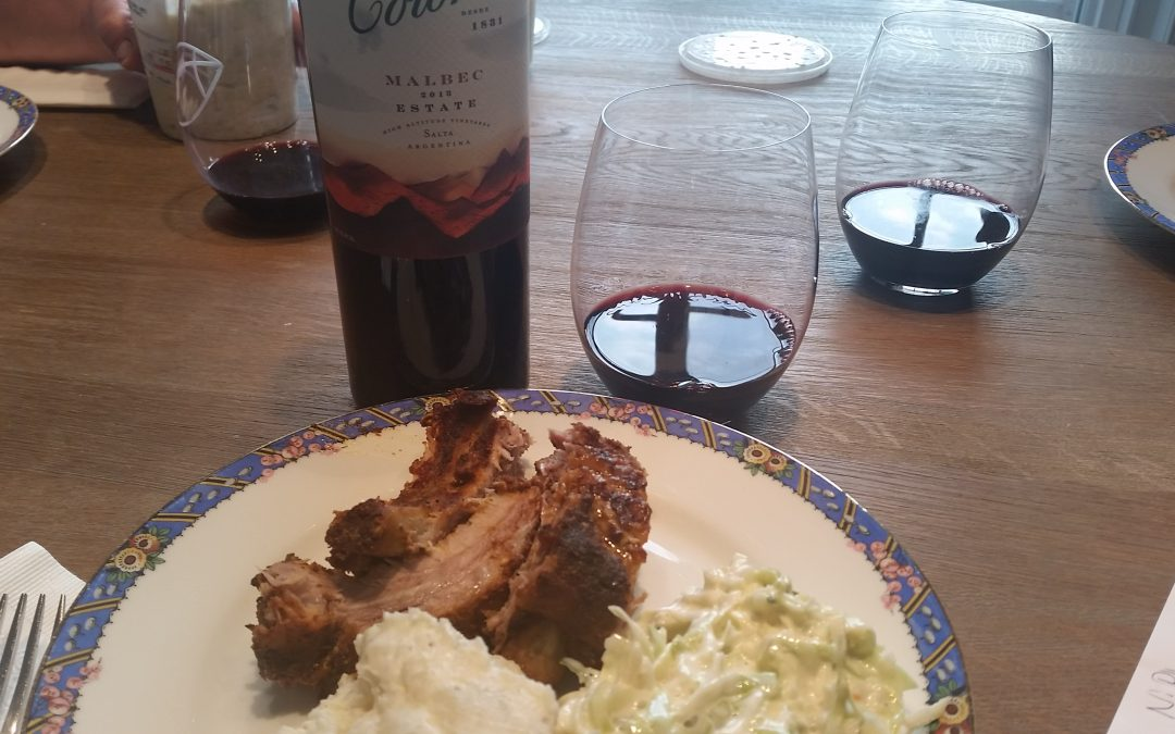 What Goes Best With Ribs But Malbec