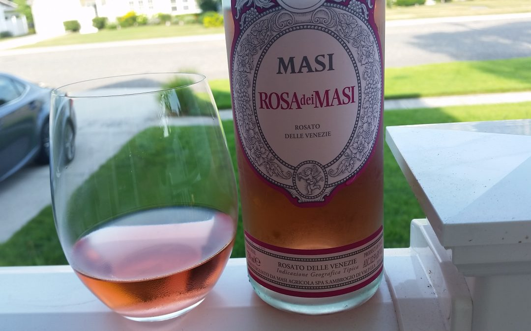 Rose Wine, Cigars and Pizza