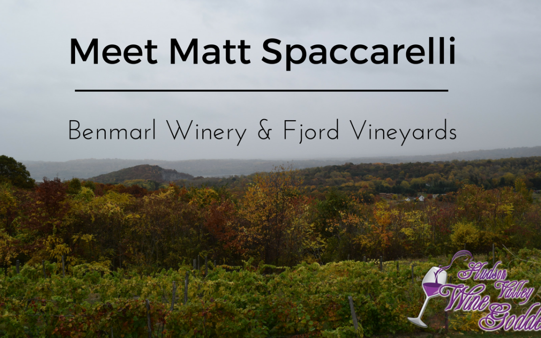 Meet Matt Spaccarelli of Fjord Vineyards  & Benmarl Winery
