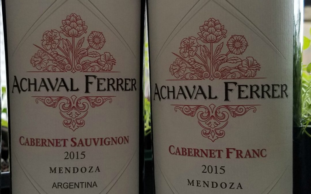 It's not all about Malbec: The Two Cabs or Achaval-Ferrer