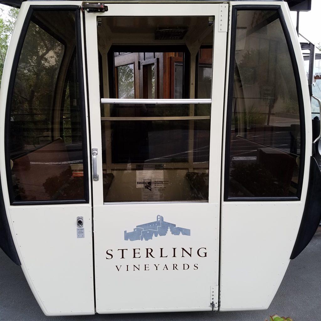 Sterling Vineyards Aerial Tram