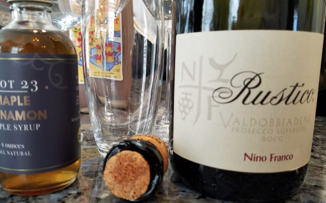 Fall Prosecco Cocktail with Nino Franco