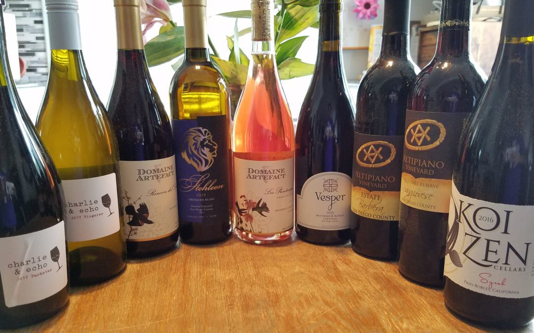 Traveling the San Diego Wine Trail