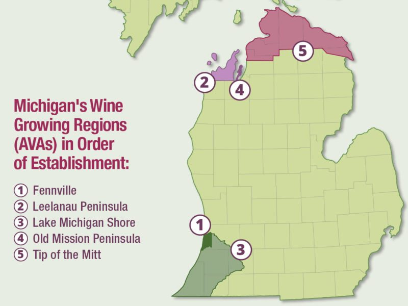 Blown Away By Michigan Wines