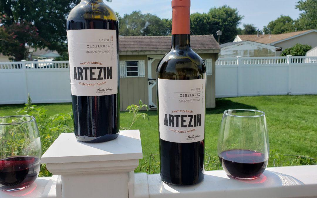Artezin Vertical Tasting with Winephabet Street
