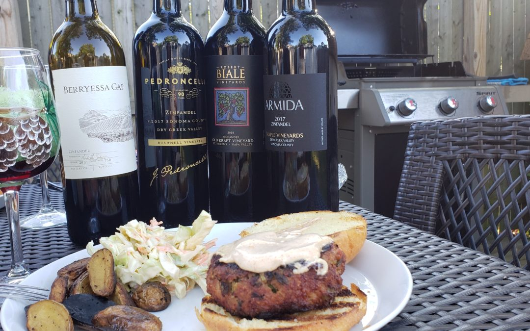 Chilling and Grilling with Zinfandel