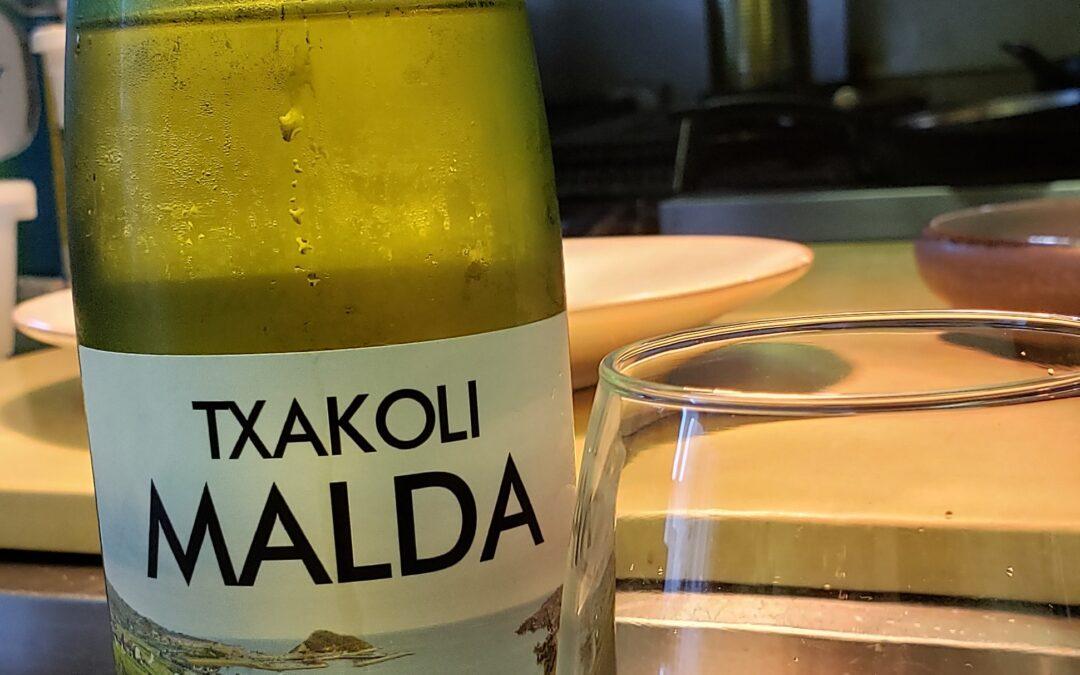 Kitchen Wine: 2018 Txakoli Malda Getariako Txakolina