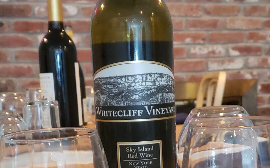 Kitchen Wine: Whitecliff Vineyards 2010 Sky Island