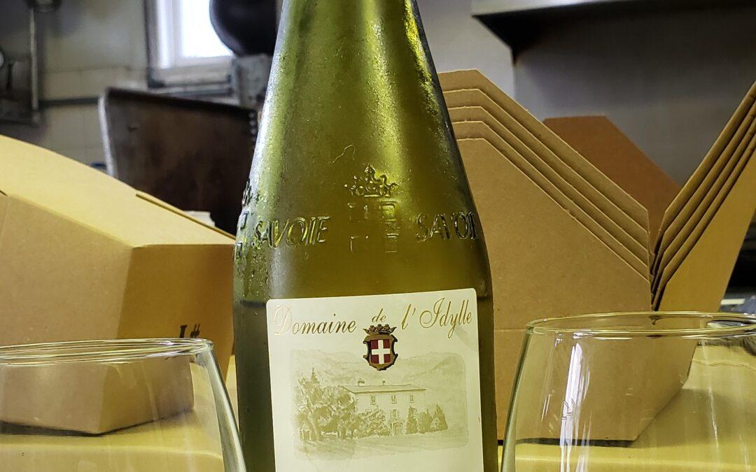 Kitchen Wine: Domaine de I'Idylle Savoie Cruet