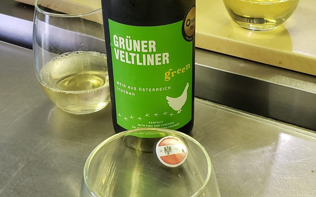 Kitchen Wine: Gruner Veltliner
