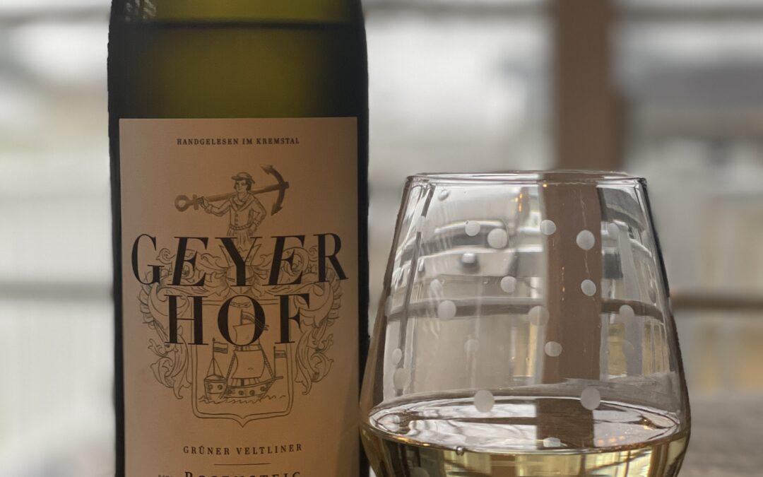Geyerhof Gruner Veltliner Delivers Excitement
